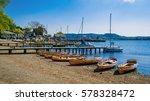 ambleside  waterhead pier  in...