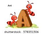 wooden textured bold font...   Shutterstock .eps vector #578351506