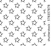 seamless pattern with stars | Shutterstock .eps vector #578357878