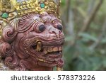balinese statues bali indonesia ... | Shutterstock . vector #578373226