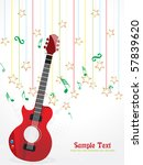 abstract musical composition ...   Shutterstock .eps vector #57839620