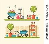 Concept Of Gardening. Garden...