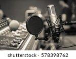 professional condenser studio... | Shutterstock . vector #578398762