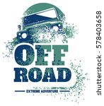 off road car logo  safari suv ... | Shutterstock .eps vector #578403658