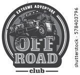 off road car logo  safari suv ... | Shutterstock .eps vector #578403796