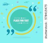 abstract concept vector empty... | Shutterstock .eps vector #578415475