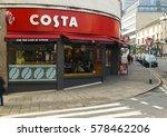 nottingham  england   february...   Shutterstock . vector #578462206