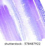 violet watercolor diagonal... | Shutterstock .eps vector #578487922