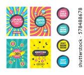 sale website banner templates.... | Shutterstock . vector #578488678