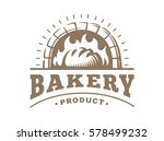 bread logo   vector... | Shutterstock .eps vector #578499232