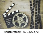 Clapperboards And The Reel Of...