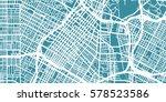 detailed vector map of los... | Shutterstock .eps vector #578523586
