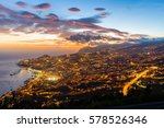 sight view of funchal  in... | Shutterstock . vector #578526346