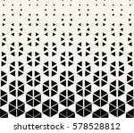 abstract geometric hexagon... | Shutterstock .eps vector #578528812