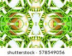 melting colorful symmetrical... | Shutterstock . vector #578549056