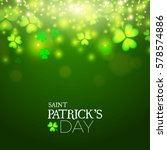 happy st.patrick's day... | Shutterstock .eps vector #578574886