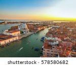 Venice Landmark Aerial View Piazza - Fine Art prints