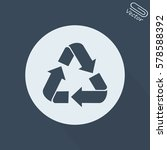 recycle symbol | Shutterstock .eps vector #578588392