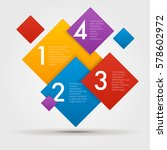 composite infographics step by... | Shutterstock .eps vector #578602972