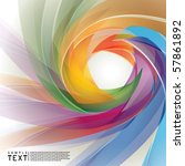 vector abstract background | Shutterstock .eps vector #57861892