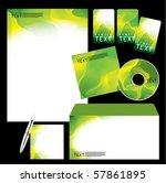 vector template background   Shutterstock .eps vector #57861895