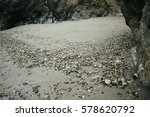 Small photo of Rocky pebbled beach