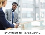business leaders consulting... | Shutterstock . vector #578628442