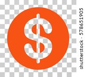 money icon. vector illustration ... | Shutterstock .eps vector #578651905