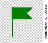 flag sign illustration. dark...