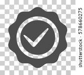 valid seal icon. vector... | Shutterstock .eps vector #578660275