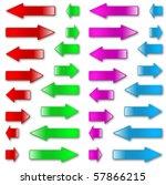 Colorful Vector Arrows