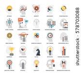 modern flat vector illustration ... | Shutterstock .eps vector #578703088