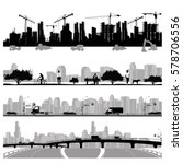 vector illustration.city... | Shutterstock .eps vector #578706556