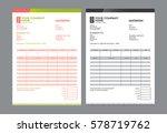 vector quotation design... | Shutterstock .eps vector #578719762
