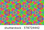 seamless pattern tile with... | Shutterstock .eps vector #578724442