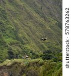 Small photo of zipline adventure in Banos de Agua Santa, Tungurahua, Ecuador