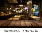blur coffee shop or cafe... | Shutterstock . vector #578776216