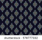 geometric ethnic pattern... | Shutterstock .eps vector #578777332