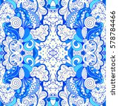 tracery seamless calming...   Shutterstock .eps vector #578784466