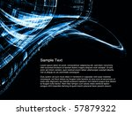 interplay of hi res abstract... | Shutterstock . vector #57879322