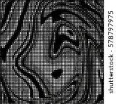 abstract grunge grid polka dot... | Shutterstock .eps vector #578797975