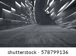 empty dark abstract concrete... | Shutterstock . vector #578799136