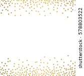 gold glitter background polka... | Shutterstock .eps vector #578803522