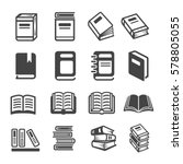 book icon | Shutterstock .eps vector #578805055