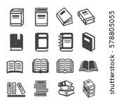 book icon | Shutterstock .eps vector #578805055