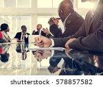 association alliance meeting... | Shutterstock . vector #578857582