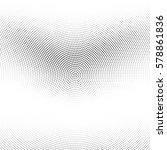 grunge halftone background.... | Shutterstock .eps vector #578861836