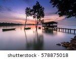 Small photo of Sunrise At Seka-wang, Port Dickson, Malaysia...