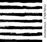 hand drawn horizontal stripes...   Shutterstock .eps vector #578878012