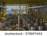 oil and gas industries. view of ...   Shutterstock . vector #578897692